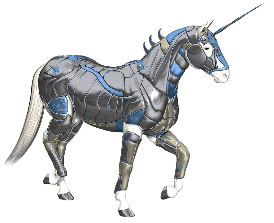 Cute Cartoon Horse Wallpaper Unicorn Armor Fantasy 183 Free Image On Pixabay
