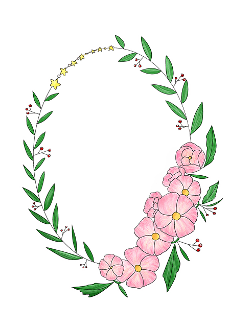 Girl Eyes Looking Up Wallpaper Wreath Corolla Flowers 183 Free Image On Pixabay