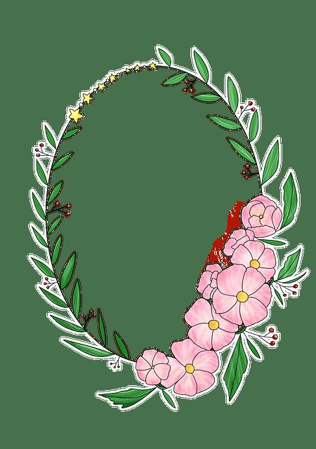 Girl New Wallpaper Download Wreath Corolla Flowers 183 Free Image On Pixabay