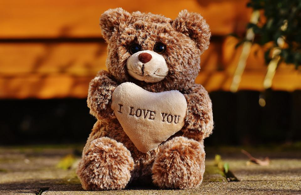 Cute Child Love Wallpaper Love Teddy Bears 183 Free Photo On Pixabay