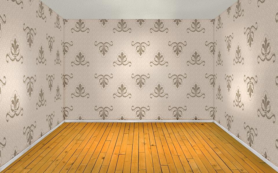 Wallpaper Coffee 3d Free Illustration Room Empty Interior Wood Floor