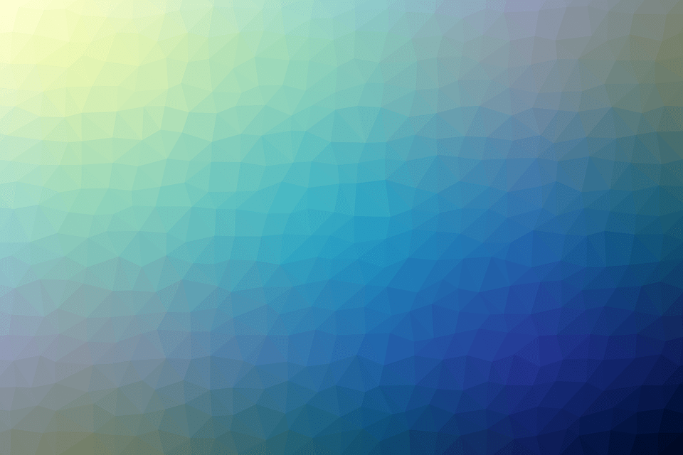 Blue Sky 3d Wallpaper Free Illustration Color Triangle Geometric Free Image
