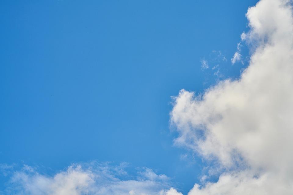 Aire Cielo Nube · Foto gratis en Pixabay - fondo nubes