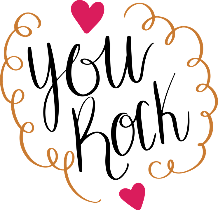 Car Wallpaper Clipart You Rock Hearts 183 Free Vector Graphic On Pixabay