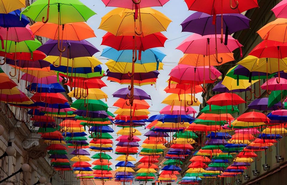 Dubai Beautiful Girl Wallpaper Umbrella Colorful Multicoloured 183 Free Photo On Pixabay