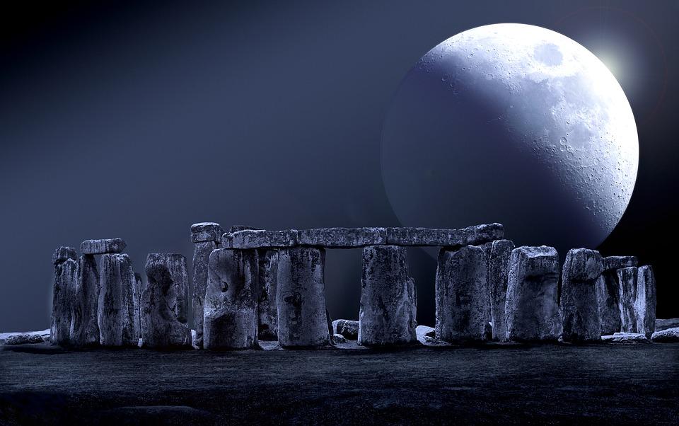 Black Cat Wallpaper Stonehenge Moon Full Stone 183 Free Image On Pixabay