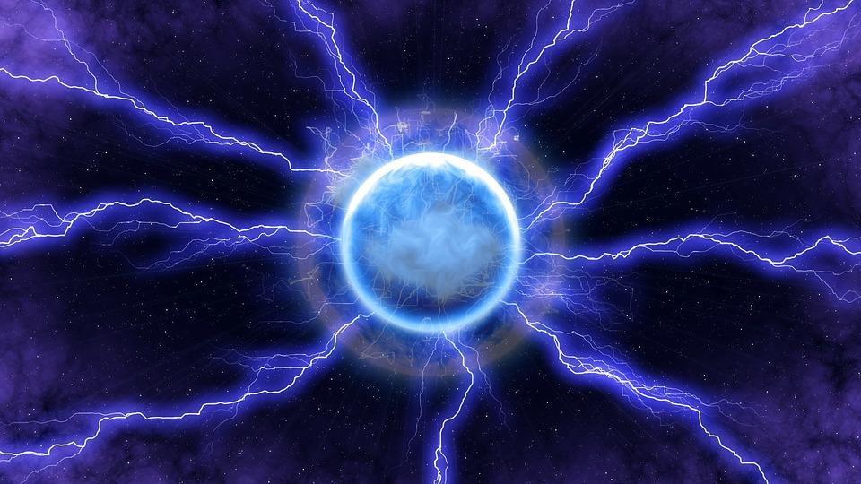 Lightning Energy Blue - Free image on Pixabay