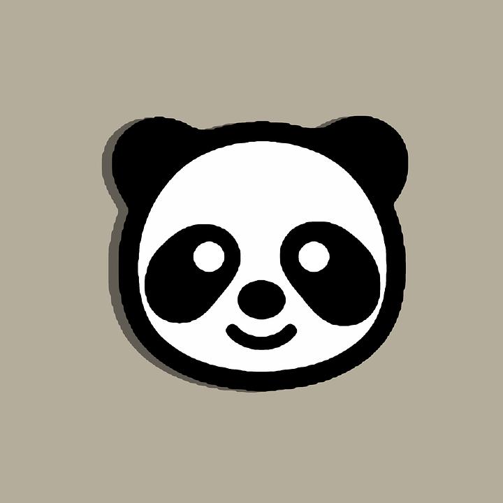 Animal Face Wallpaper Panda Clipart Face 183 Free Image On Pixabay