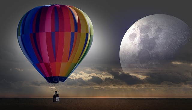 Cartoon Love Wallpaper Full Hd Free Photo Balloon Hot Air Balloon Ride Free Image On
