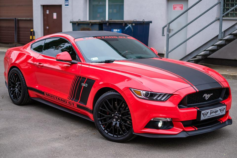 Racing Car Hd Wallpaper Free Download Mustang Gt Red 183 Free Photo On Pixabay