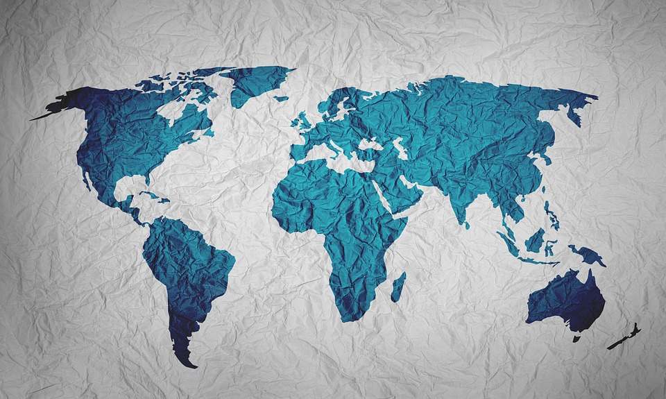 Map Of The World Background Paper - Free image on Pixabay