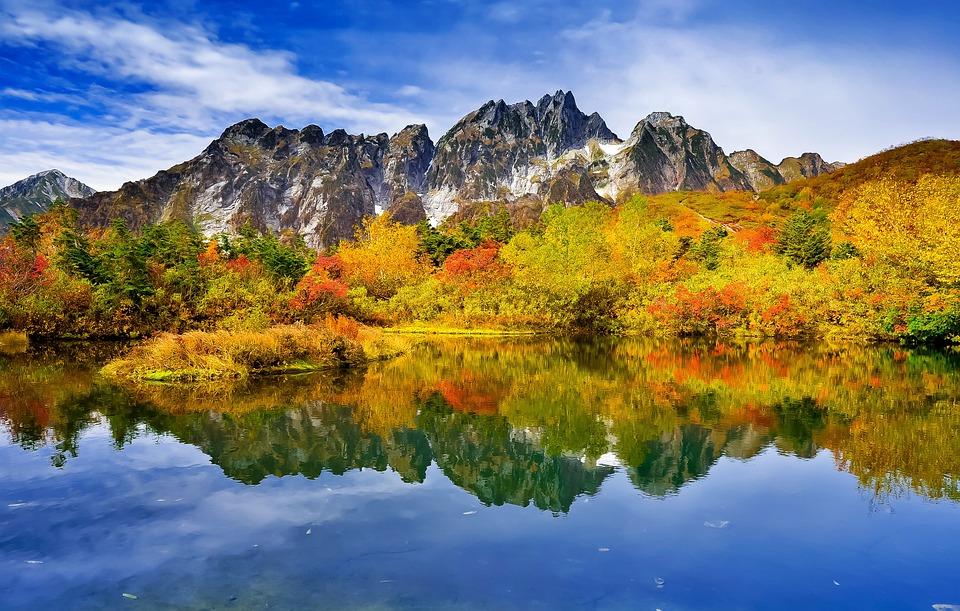 Fall Foliage Wallpaper Widescreen Paesaggio Di Montagna Foglie 183 Foto Gratis Su Pixabay
