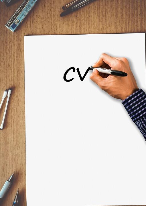 Resume Cv Curriculum · Free photo on Pixabay