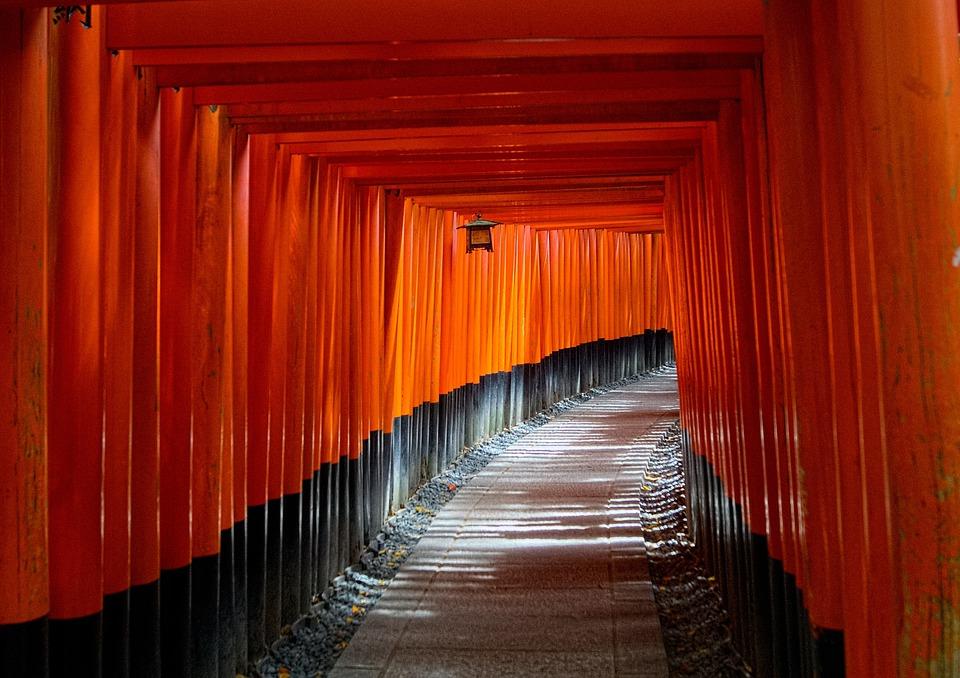 Fall Facebook Wallpaper Kyoto Japan Torii Gate 183 Free Photo On Pixabay