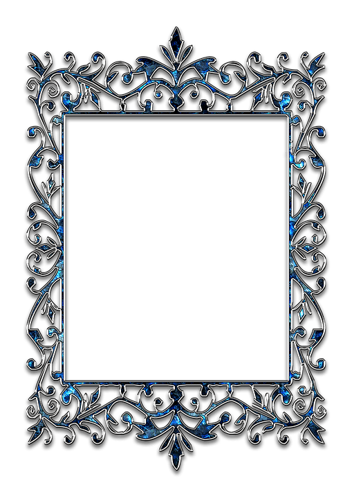 Black Silver Glitter Wallpaper Frame Photo Template 183 Free Photo On Pixabay