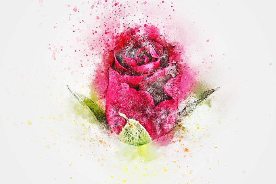Girl Wallpaper Face Tattoo Flower Rose Art 183 Free Image On Pixabay