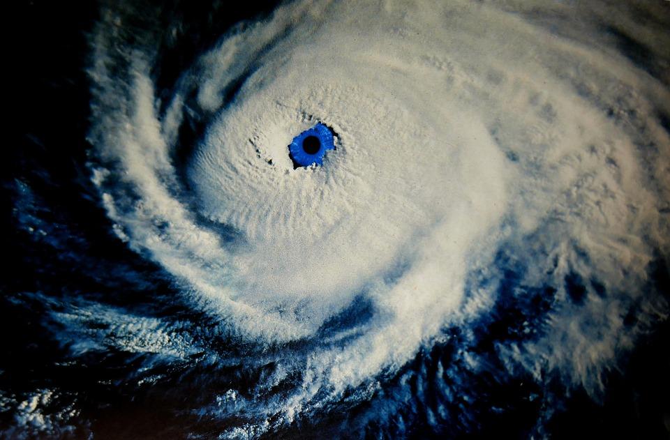 Wallpaper Hd Om Gratis Foto Orkaan Oog Het Oog Van De Orkaan Gratis
