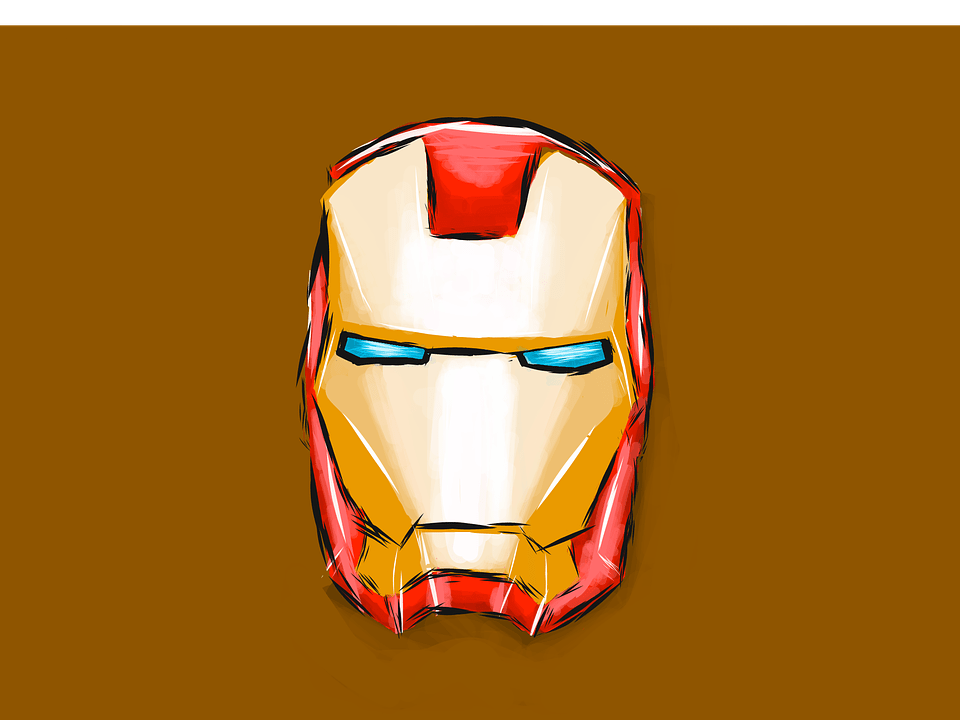Animated Fire Wallpaper Iron Man Helmet Helm 183 Free Image On Pixabay