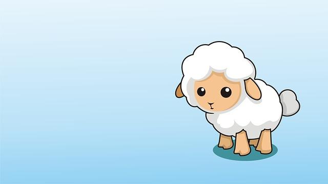 Cute Little Girl Wallpaper Download Lamb Wallpaper Orange 183 Free Image On Pixabay