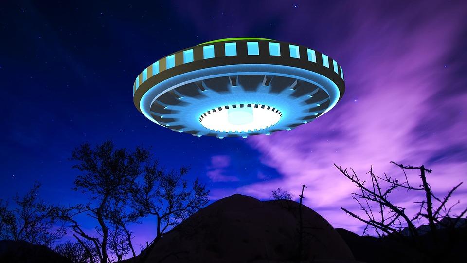 3d Wallpaper City Lights Ufo Alien Spaceship 183 Free Image On Pixabay
