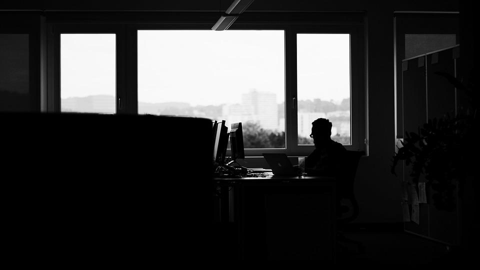 Black Text Wallpaper Dark Room Office 183 Free Photo On Pixabay