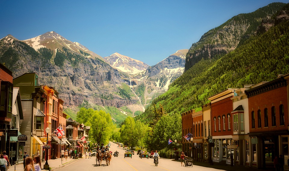 Fall Mountain Wallpaper Telluride Colorado Town 183 Free Photo On Pixabay