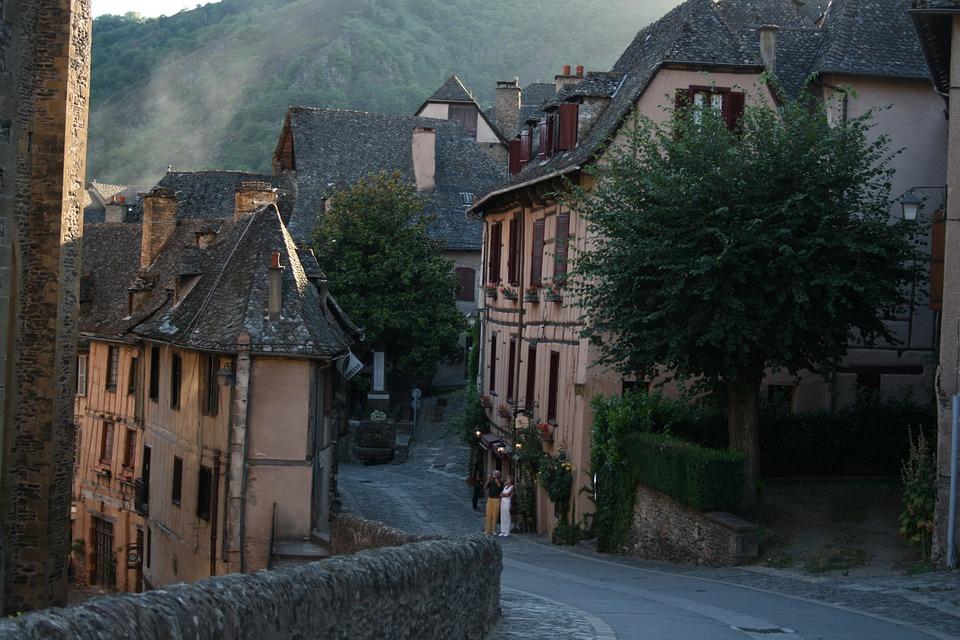 3d Street Art Wallpaper Village Medieval France 183 Free Photo On Pixabay