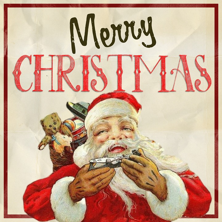 Merry Christmas Vintage - Free image on Pixabay