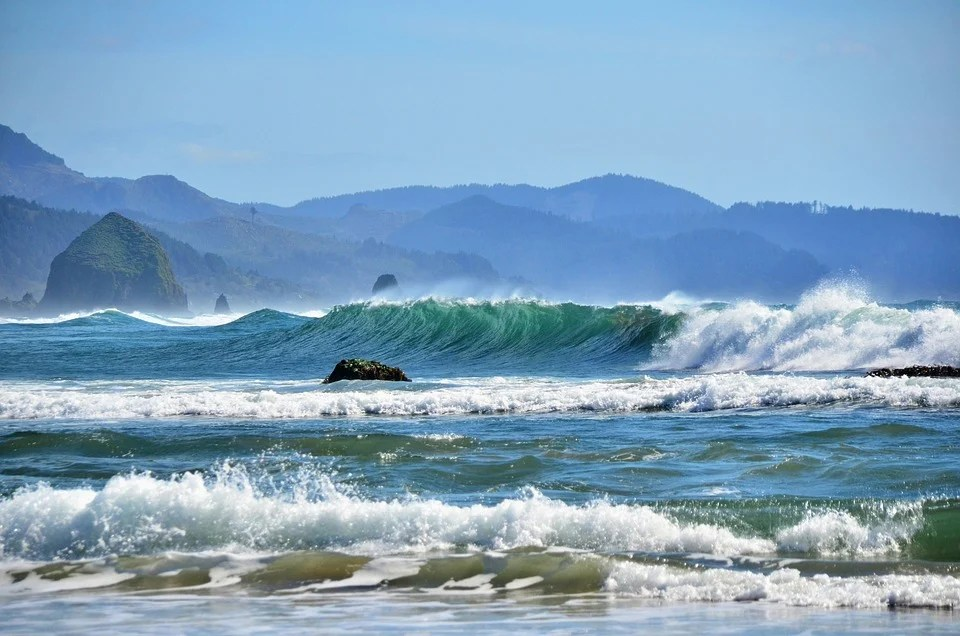 Summer Girl Wallpaper Coast Waves Beach 183 Free Photo On Pixabay