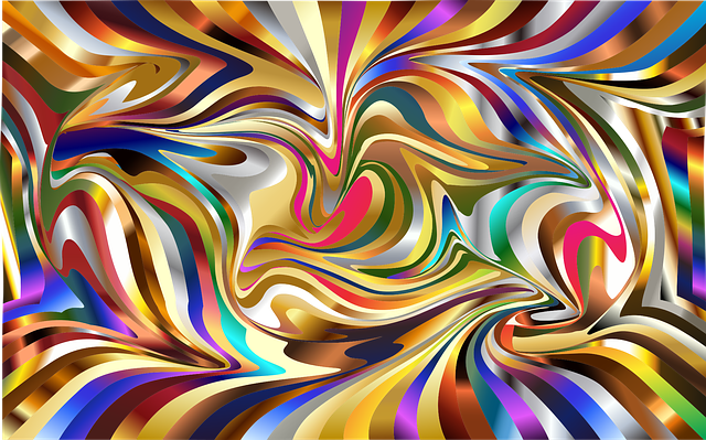 3d Perspective Wallpaper Wallpaper Psychedelic Background 183 Free Vector Graphic On