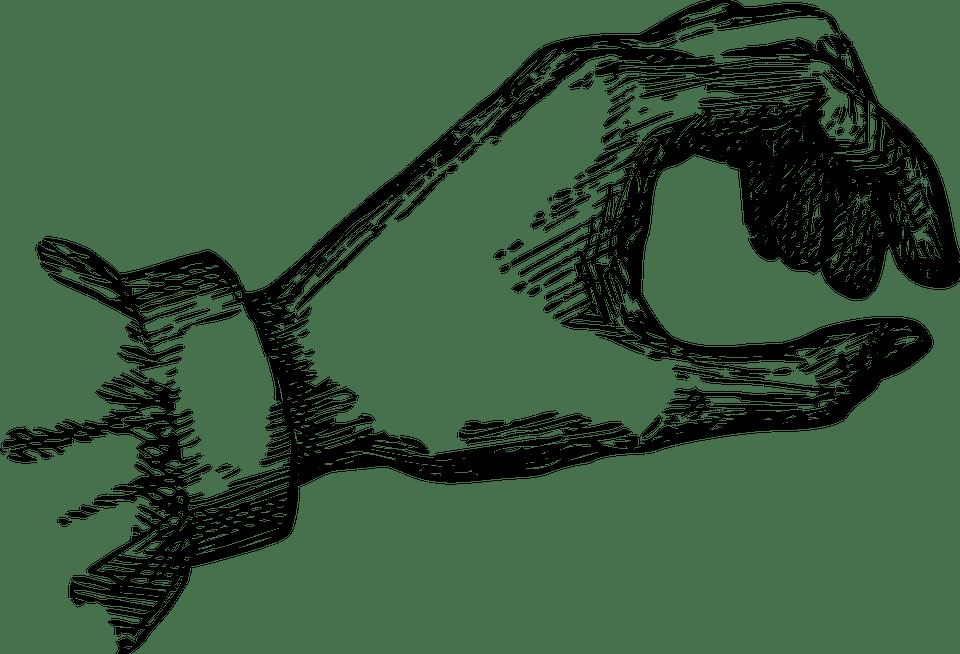 Black Wallpaper Border Hand Vintage Vector 183 Free Vector Graphic On Pixabay