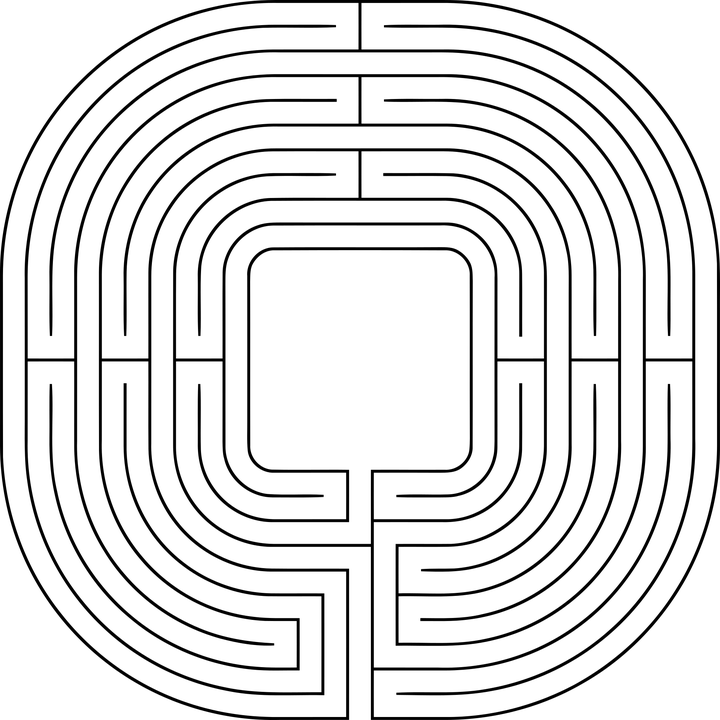 Wallpaper Bike And Girl Labyrinth Maze Lost 183 Free Vector Graphic On Pixabay