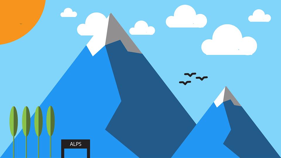 Car Wallpaper 1366x768 Mountain Minimal Material Design 183 Free Image On Pixabay
