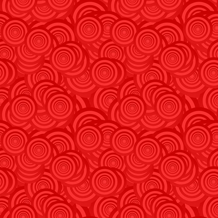 Hd Wallpaper Girl Christmas Circle Pattern Red 183 Free Image On Pixabay