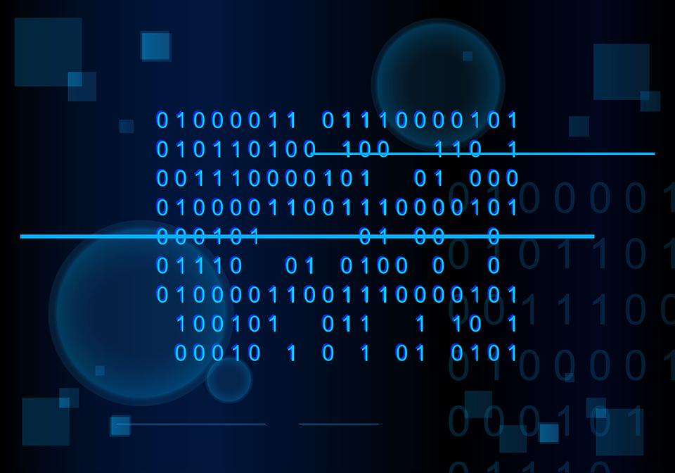 Christmas 3d Wallpaper Download Blue Matrix 183 Free Vector Graphic On Pixabay
