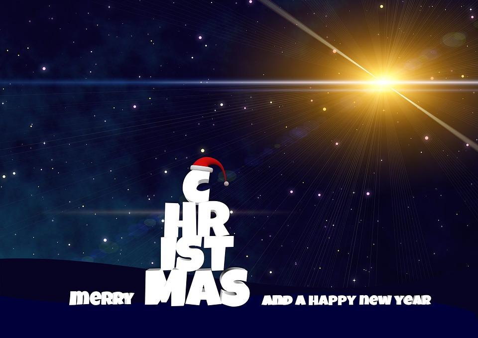 Christmas Star Happy Holidays - Free photo on Pixabay