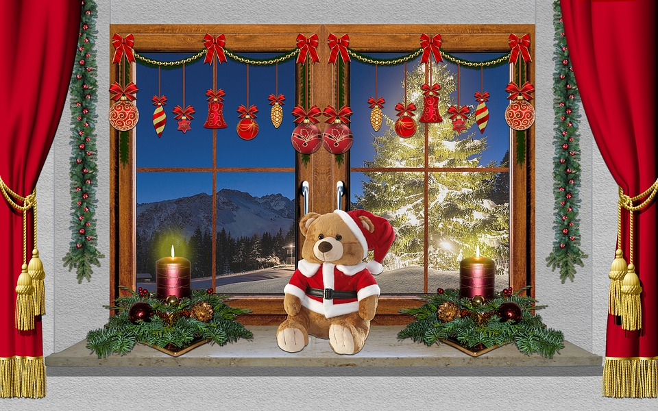 Animated Christmas Desktop Wallpaper Free Download Christmas Window Decoration 183 Free Photo On Pixabay