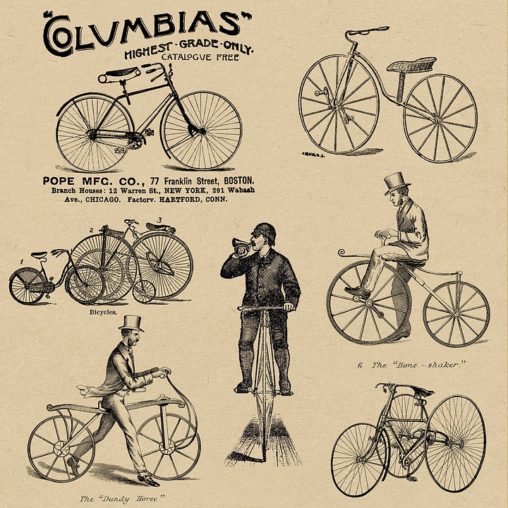 Girl Couple Wallpaper Bicycles Vintage Bike 183 Free Image On Pixabay