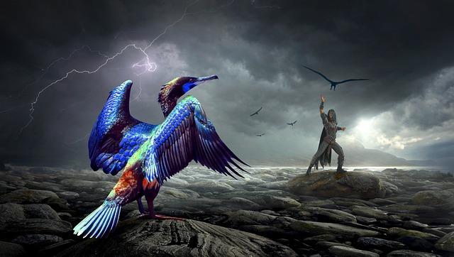 Free Animal Wallpaper Backgrounds Fantasy Bird Human 183 Free Photo On Pixabay