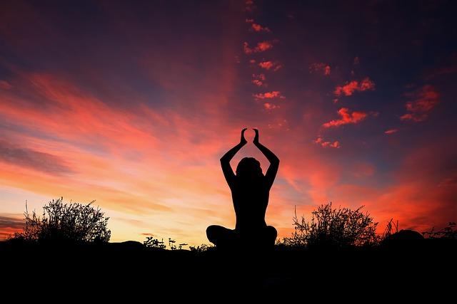 Girl In Sad Mood Wallpaper Sunset Yoga Silhouette 183 Free Photo On Pixabay