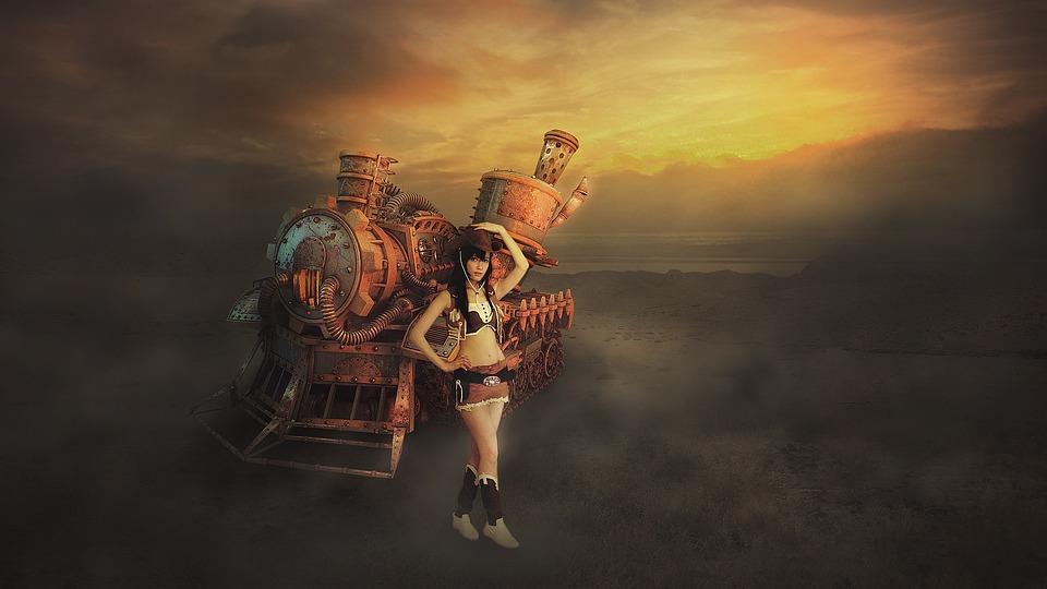 Tiger Girl Wallpaper Fantasy Art Girl Train 183 Free Photo On Pixabay