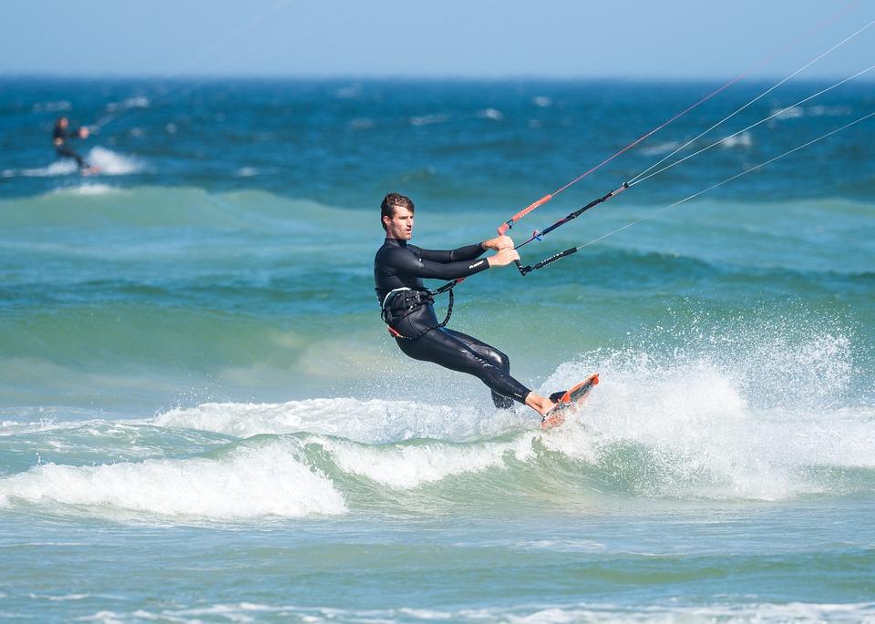 Kite Boarder Boarding - Free photo on Pixabay