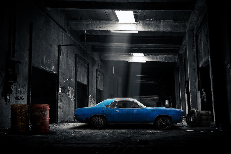 Car Lights Night Wallpaper Car Garage Old 183 Free Image On Pixabay