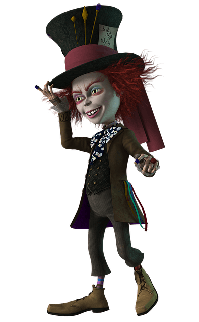 3d Woman Wallpaper Mad Hatter Wonderland 183 Free Image On Pixabay