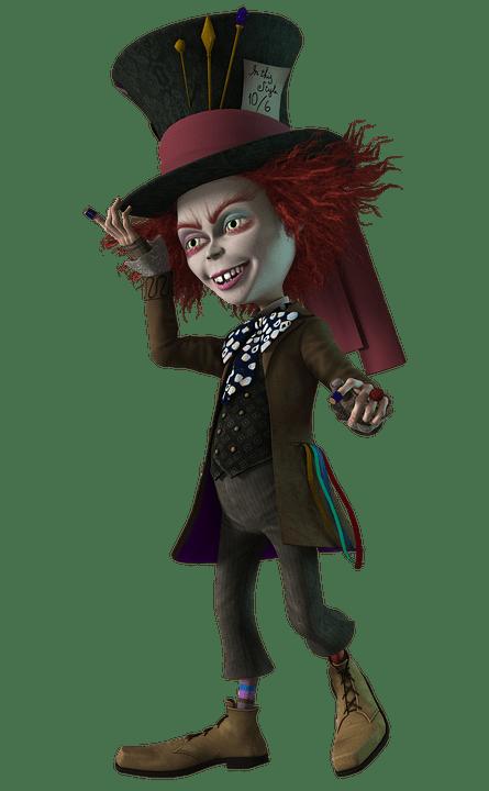 Winter Wallpaper 3d Mad Hatter Wonderland 183 Free Image On Pixabay