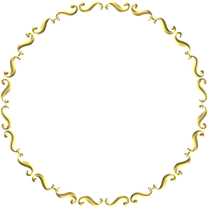 Fall Heart Leaves Background Wallpaper Gold Frame Round 183 Free Image On Pixabay