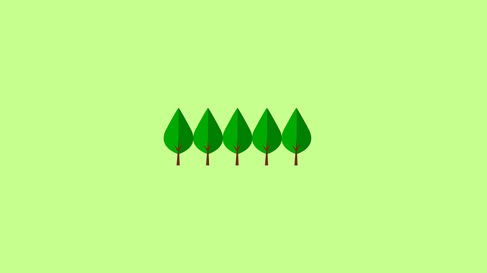 Starry Fall Night Wallpaper Trees Minimal Wallpaper 183 Free Vector Graphic On Pixabay