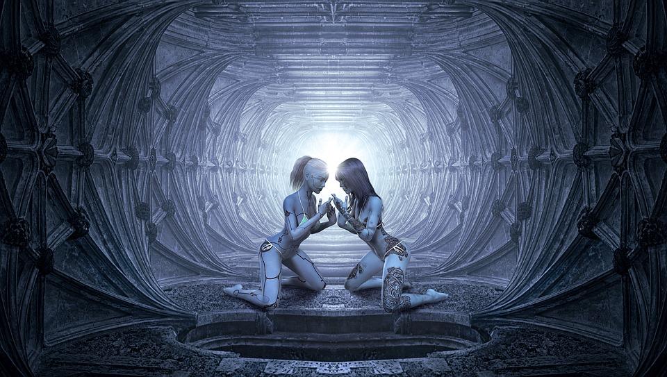 Free Girl Wallpaper For Android Free Illustration Fantasy Tunnel Women Love Light