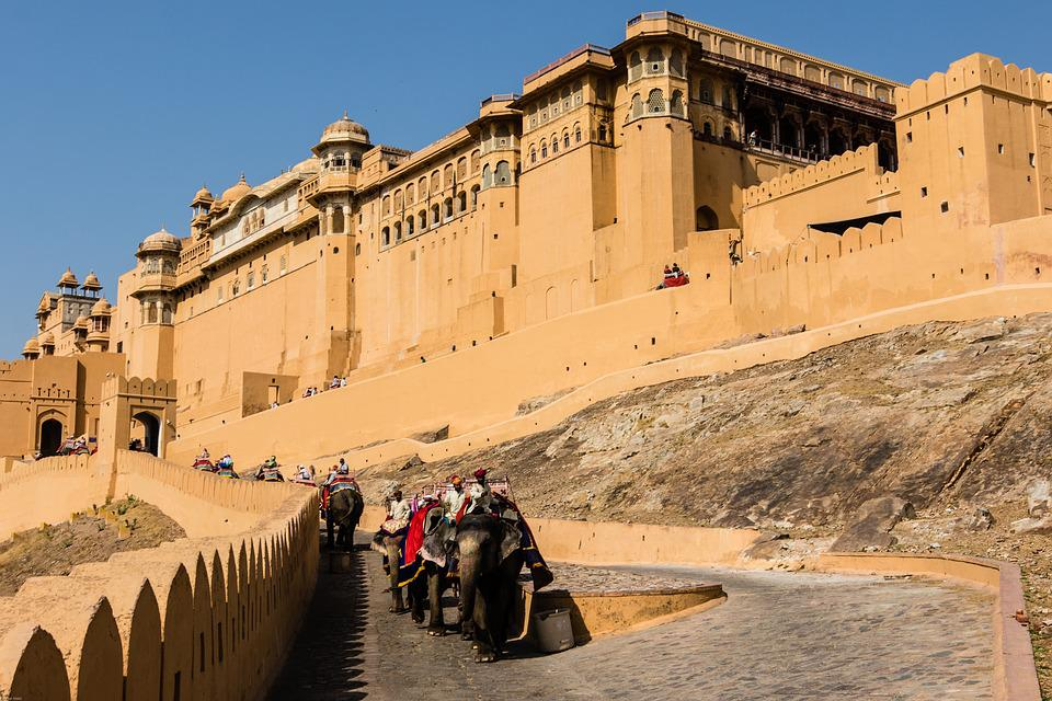 Fall Hd Wallpaper Free India Jaipur Amber Fort 183 Free Photo On Pixabay