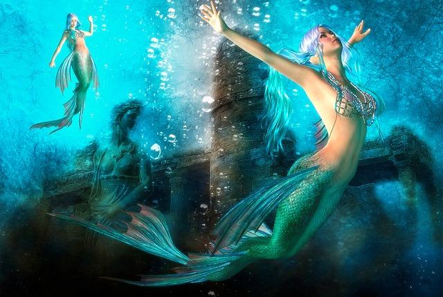 Gothic Girls Wallpaper Desktop Woman Magical Mermaid 183 Free Image On Pixabay